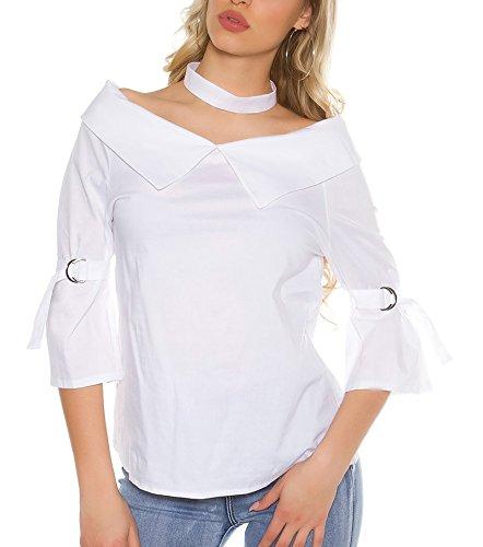 KouCla - Camisas - para mujer Weiß