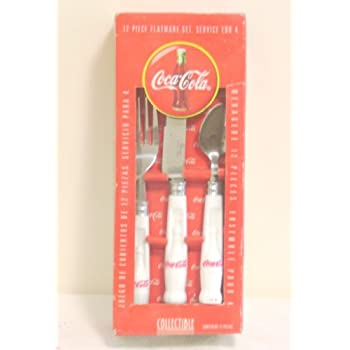 Coca-Cola Collecible 12 Piece Flatware Set