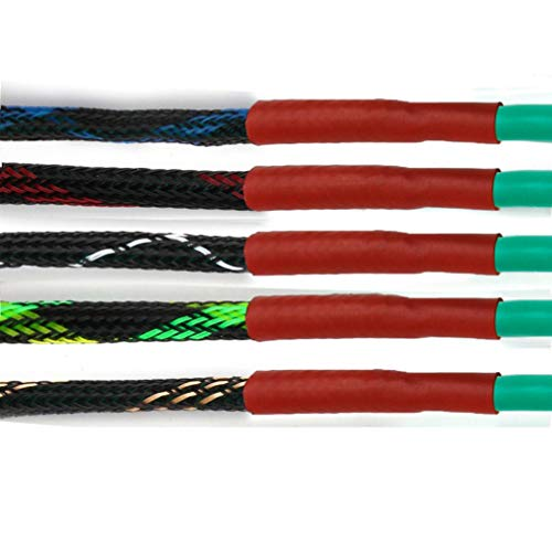 5M 6mm 5Colors Tight PET Cable Sleeves High Density Wire Gland Protection Braided Cables Sleeve Insulation Expandable Sleeving by MEIZOKEN (Image #4)