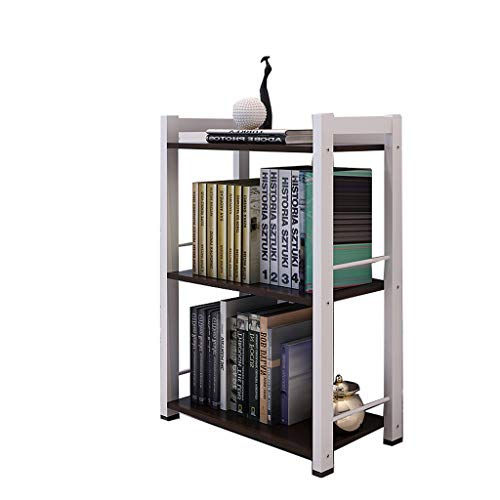TLMYDD Floor-Standing Bookshelf Desk Books Miscellaneous Storage Rack Storage Rack Wooden Bookcase 51x25x80cm Bookcase