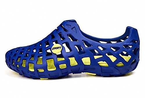 Water Shoes,Womens Mens Pull-on Water Shoes Mesh Sandals Unisex Beach Shoes Blue