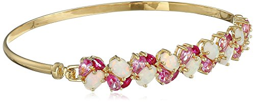 Yellow Sterling Created Sapphire Bracelet product image