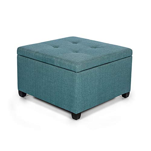 Square Fabric Upholstered Seat - 5