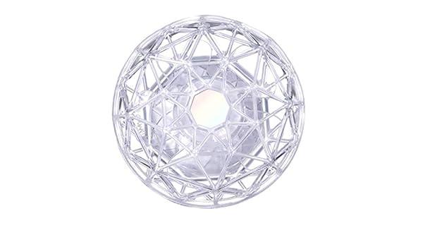 CAOQAO - Mini Pizarra de Cristal Diamante, Ventilador USB, Color ...