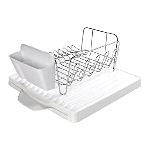 Oxo Good Grips Dish Rack Set With Expandable Drain Board