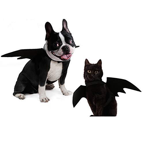 ULIGOTA Dog Costume Bat Wings for Dog Bat Costume Medium Size -