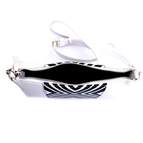 shoulder bag woman white Pvc Jeans Plastic Armani EUq05x