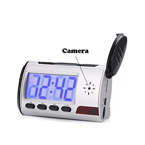 Image not available for. Color: Spy Alarm Clock