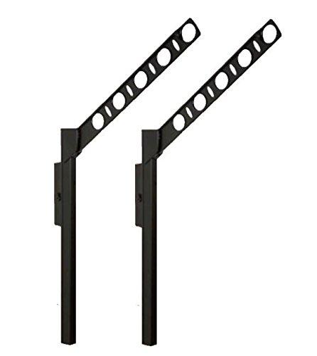 DRYWAVE 腰壁用可動式物干金物 アーム長さ550mm SF55 ブラック B01BL9AF58