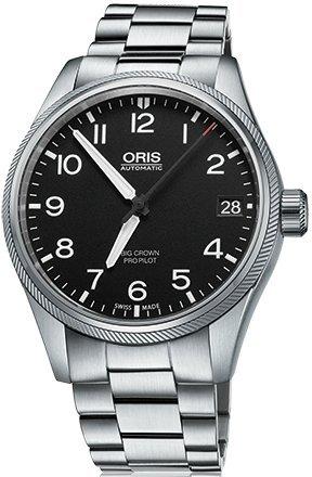 Oris Men's 'Big Crown' Swiss Automatic Stainless Steel Dress Watch (Model: 75176974164MB) (Watch Automatic Oris)