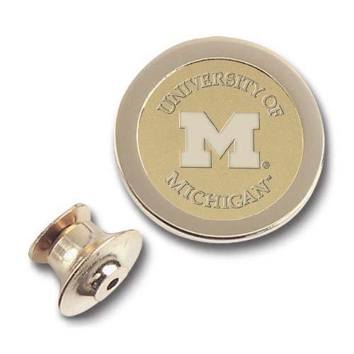 CSI Cannon Sports Michigan Wolverines Gold Lapel ()