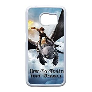 Samsung Galaxy S6 Edge Cell Phone Case White How To Train Your Dragon Carton F6699383