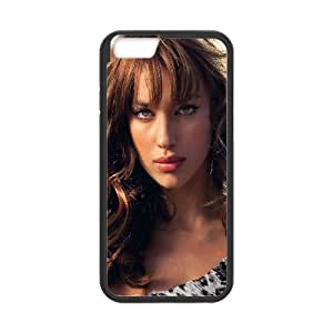 iPhone 6 Plus 5.5 Inch Cell Phone Case Black ha86 irina shayk girl face sexy W7D2NV