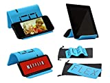 iFLEX   Cell Phone & Tablet Stand Holder for in-Flight Air Travel   Holds iPhone Android Cellphone iPad Kindle Tablet   Universal Stand/Holder   Desktop Stand   Holder for Bed