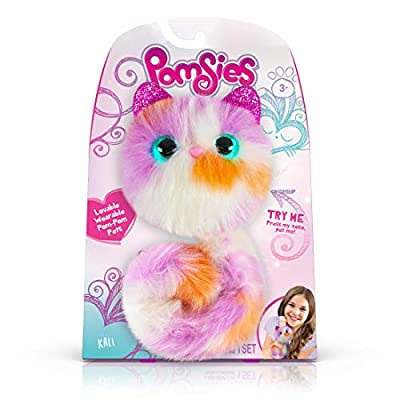 Pomsies 1978 Kali -  Exclusive, White/Purple/Tangerine: Toys & Games