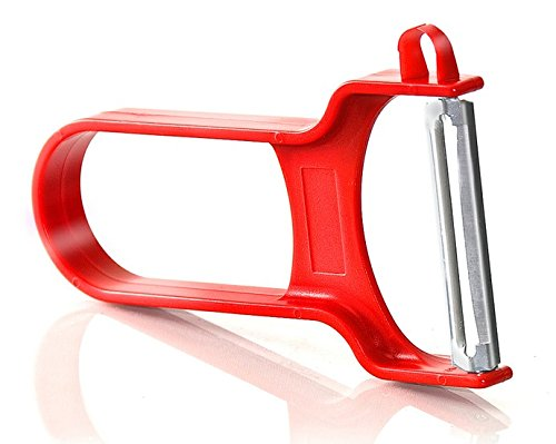 Vegetable Peeler, Potato Peeler, For All Fruits & Veggies, with Swiss Blades and Ergonomic, Non-Stick Plastic Handle, By Bovado USA , - Appliance Products