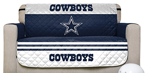 Pegasus Home Fashions NFL Dallas Cowboys Love Seat Furniture Protector With  Elastic Straps, 75 X