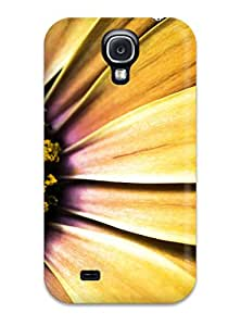David R. Spalding's Shop Best 1743746K33340655 Hot Design Premium Tpu Case Cover Galaxy S4 Protection Case(golden Shasta Daisy)