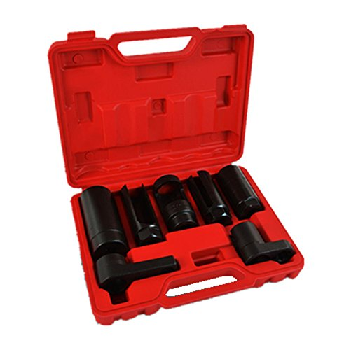 SUPERTOOLS Oxygen Sensor Socket Tool Kit 7PCS TP1038 by SUPERTOOLS