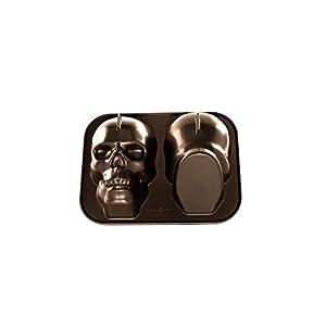 Amazon Com Nordic Ware 88448 Haunted Skull Pan Kitchen