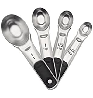 OXO Good Grips Stainless Steel Measuring Spoons With Magnetic Snaps