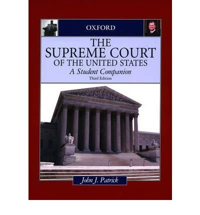 Download [(The Supreme Court of the United States: A Student Companion )] [Author: John J Patrick] [Aug-2006] pdf epub