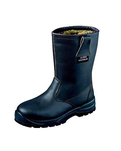 Mundial Com Pele Sapatos Segurança Forro Botas S3 Os De Todos Inverno Tamanhos Em De Ci Rigger De wA4q10F7q