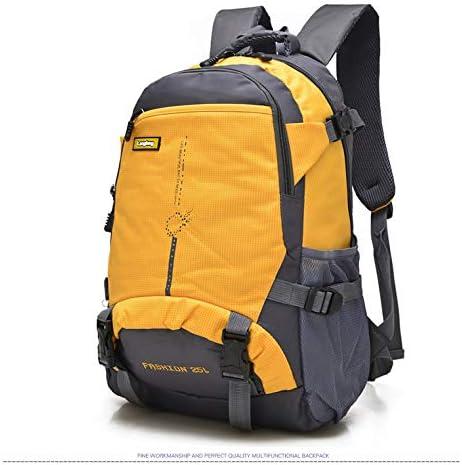 25L Outdoor Packs Multi Pocket Sac /à dos de randonn/ée Sac /à dos pour le v/élo la randonn/ée les voyages Orange