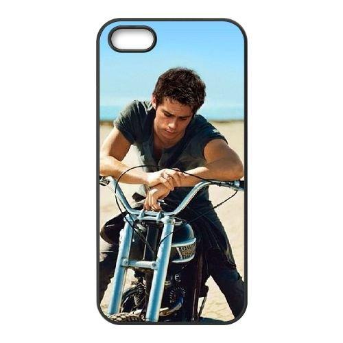 Dylan O'Brien 004 coque iPhone 4 4S Housse téléphone Noir de couverture de cas coque EOKXLLNCD18092