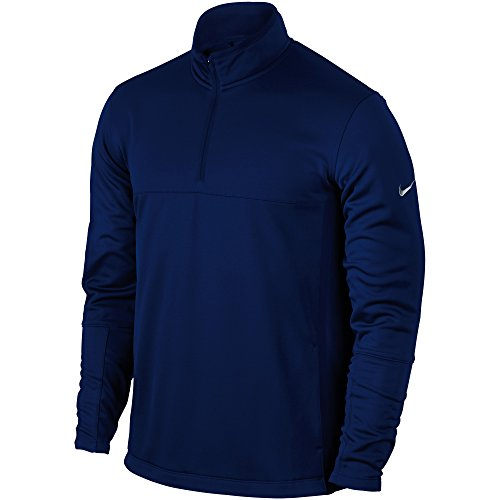 Nike Mens Therma-Fit Cover Up Golf Jacket (XL) (College Navy/Wolf Grey)