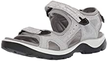 ECCO Women's Yucatan outdoor offroad hiking sandal, white, 5 M US