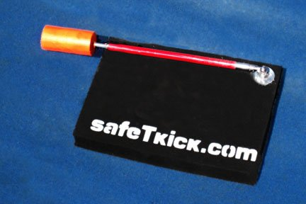 Safetkick Motorcycle Kickstand Pad Support