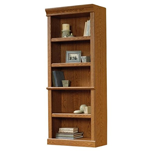 Sauder Orchard Hills Library, L: 29.45'' x W: 13.47'' x H: 71.50'', Carolina Oak finish by Sauder