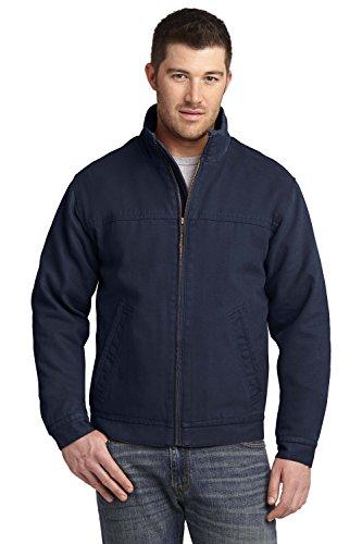 Jacket Work Cornerstone - CornerStone Washed Duck Cloth Flannel-Lined Work Jacket – 100% Cotton - Large