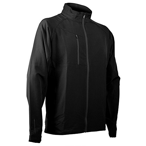 Sun Mountain Mens Isotherm Full Zip Jacket Black L ()