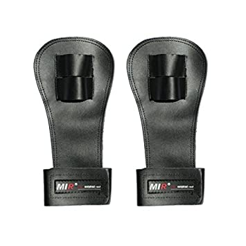 Mir Crossfit Leather Palm Protectors Hand Grips Glove Gymnastic