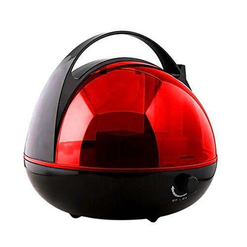 Iebeauty Round Ultrasonic Large 360 degree Germ Free Cool Mist Humidifier ,2 (Htc Wing Solid Case)