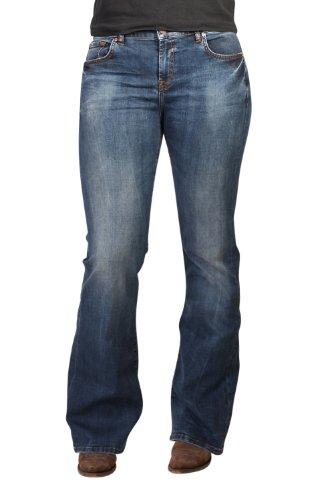 LTB 5041-3109 ROXY Bootcut Stretch-Jeans vince-wash: Weite: W25 | Länge: L36