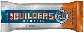 product image for CLIF BUILDERS - Protein Bars - Chocolate Peanut Butter Flavor - 20g Protein (2.4 Ounce, 6 Count) (Now Gluten Free)