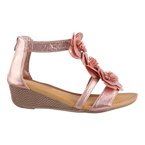 Tira Mujer De Avignon Elara Tobillo Pink 4Sqw5tFSxd