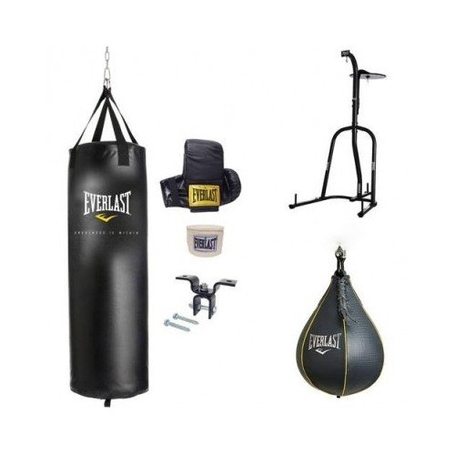 Dual Station Heavy Bag Stand, 70-lb Heavy Bag Kit and Speedbag by unknown (Image #4)