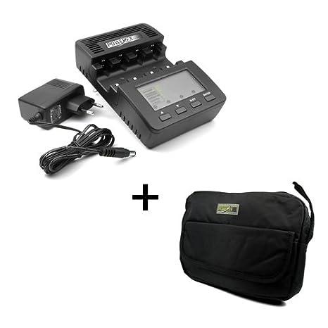 Cargador Powerex MH-C9000 WizardOne - para pilas NiMH/NiCd ...