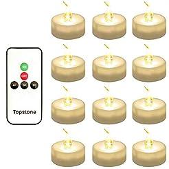Topstone LED Tea Light,Flameless Flicker...