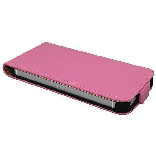 avci Base 4260344989171Flip PU Simili Étui de protection en cuir pour Apple iPhone 4/4S Soft Rose