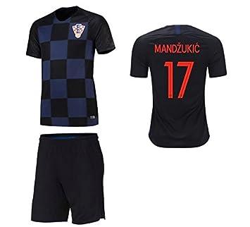 mqtwer Camiseta De Croacia Jersey 2018 Jugador 16-17 Europeo, L, Número De Sello Personalizado: Amazon.es: Deportes y aire libre
