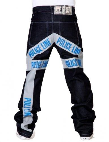 Blue Jeans sucio Denim línea Policía Dinero wtIBpq