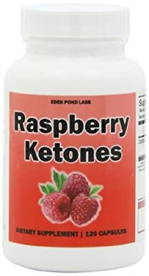 Raspberry Ketones, 250mg Per Serving, 120 Capsules, Weight Loss Pills, Appetite Suppressant, Pure Raspberry Ketones, 120 Day Supply from Eden Pond