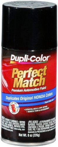 Dupli-Color BHA0941 Black Metallic Honda Perfect Match Automotive Paint - 8 oz. ()