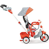 Little Tikes 5-in-1 Deluxe Ride & Relax Reclining Trike (Red)