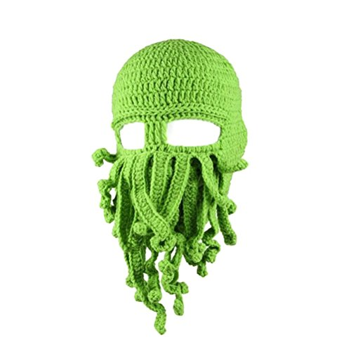 Tinksky Funny Unisex Knitted Octopus